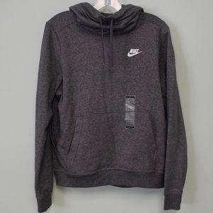 Nike Funnel Neck Pullover Hoodie Sweatshirt